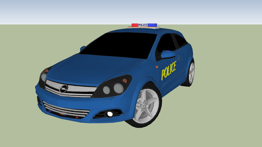 Opel Astra Police