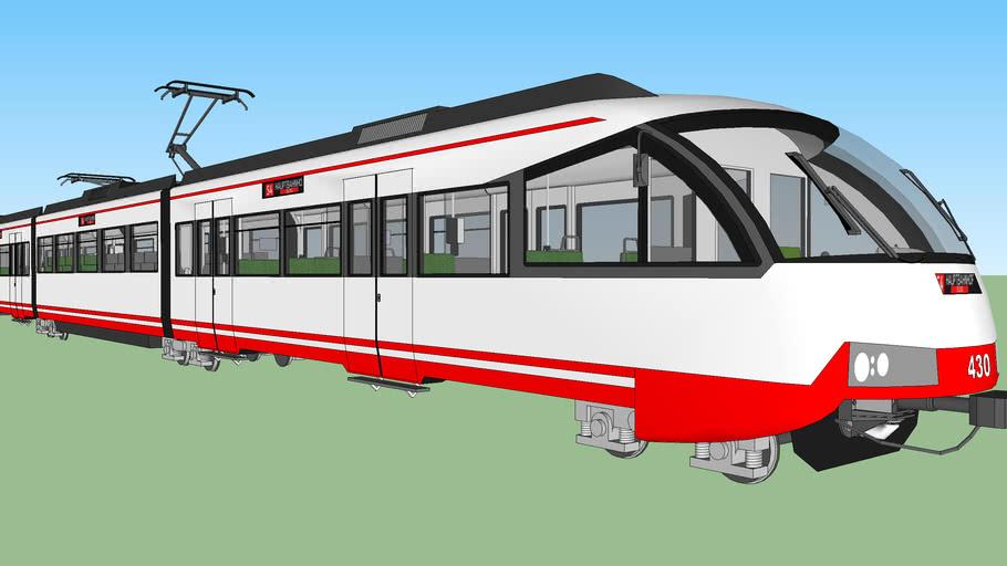 Zweisystemstadtbahn 4, Light Rail 4, Tram-Train 4