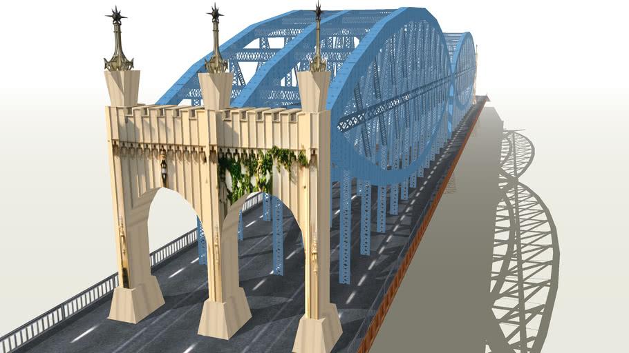 Smithfield Street Bridge in Pittsburg, PA