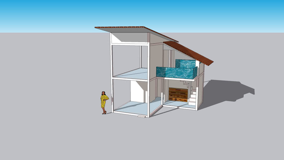 Mini house For 1 - 2 person (Exo House)