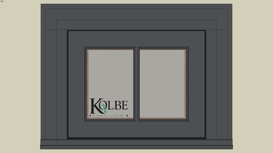 """Kolbe Ultra Casement KUN114S (F.S. 1'-8"""" x 1'-4"""" R.O. 1'-8 1/2"""" x 1'-4 1/2"""")"""