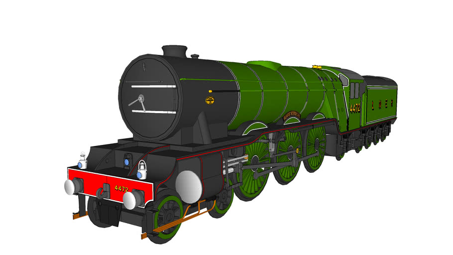 The Flying Scotsman LNER Class A3 4472