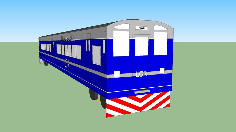 Línea General Roca- Vagón principal Eléctrico