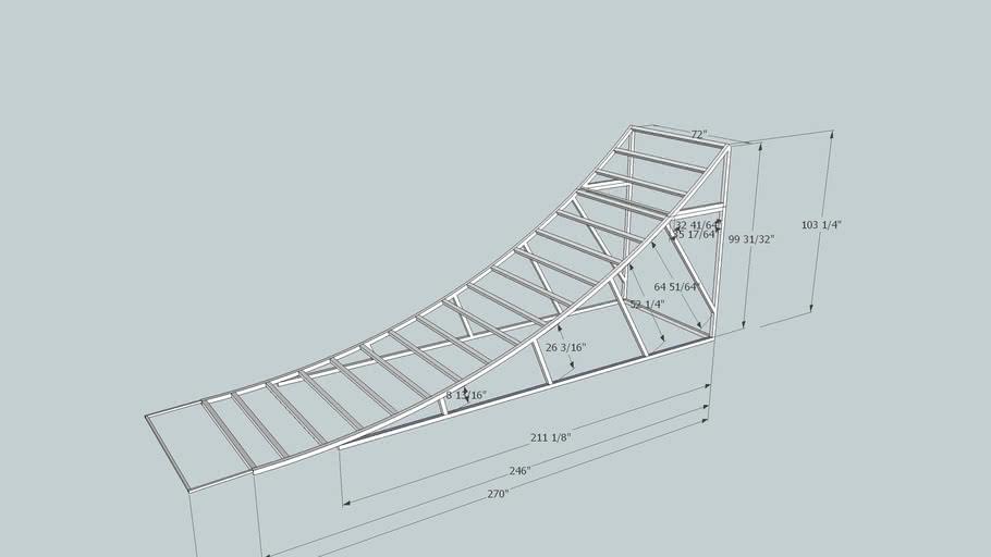 aussie comp ramp structure