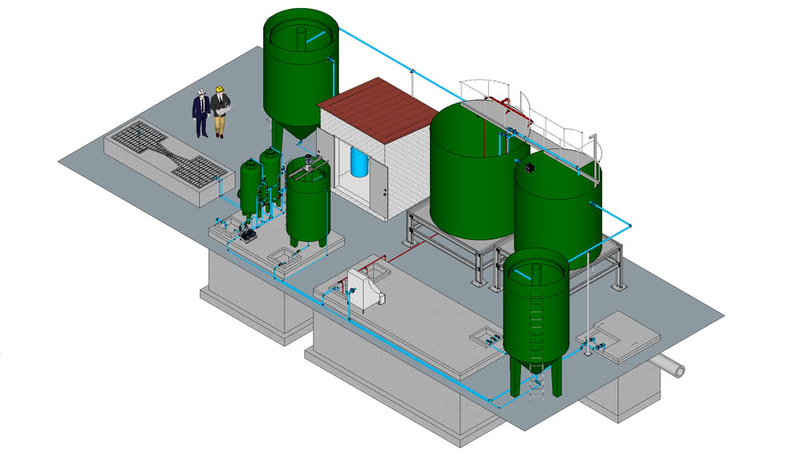 Waste water treatment system_ N.M.Giap_2016