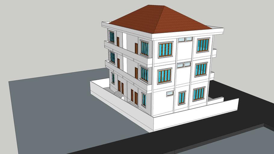 ຫ້ອງແຖວ Apartment