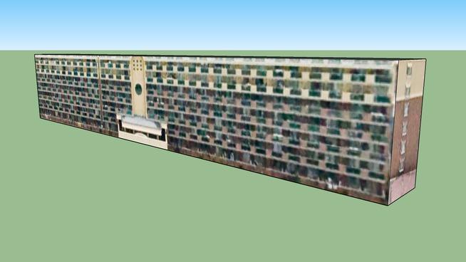 日本, 宫城县仙台市的建筑模型