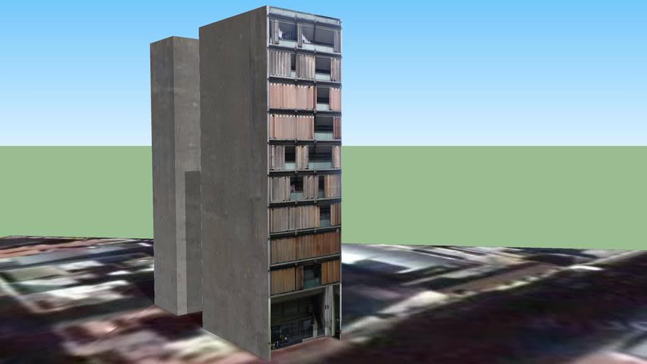 Edificio de departamentos, La Plata