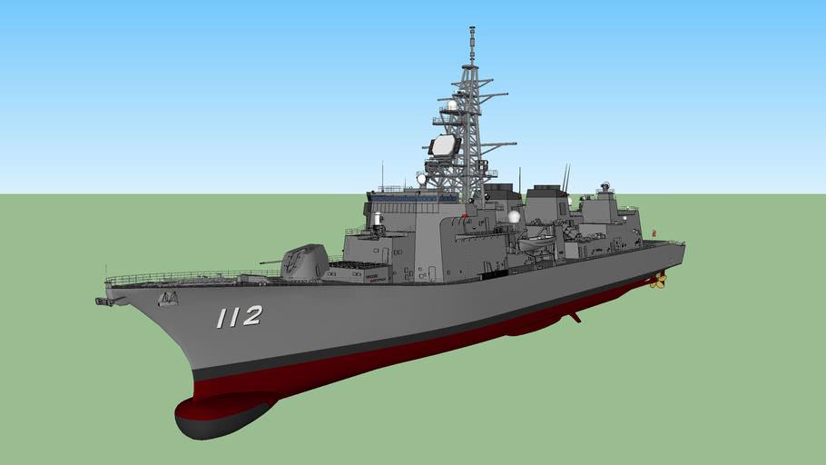 JMSDF JS Makinami DD-112 まきなみ