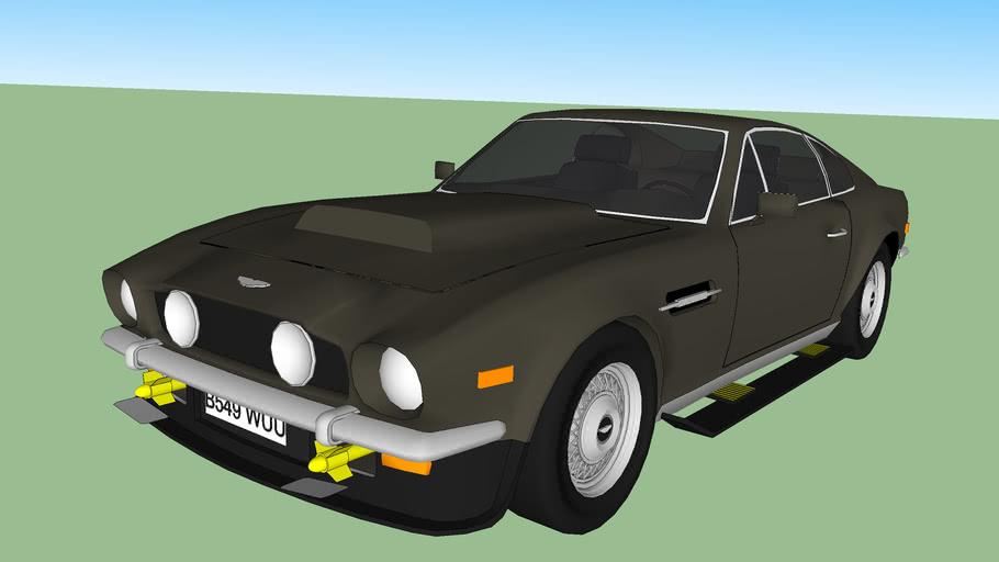 1985 Aston Martin V8 Vantage James Bond The Living Daylights 3d Warehouse
