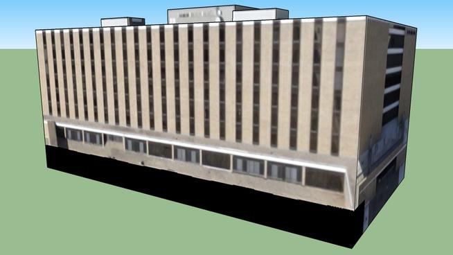 Bygning i Austin, Texas, USA