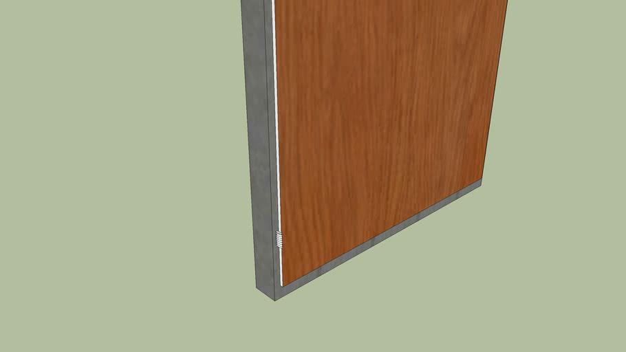 Single Door Built-in Wardrobe