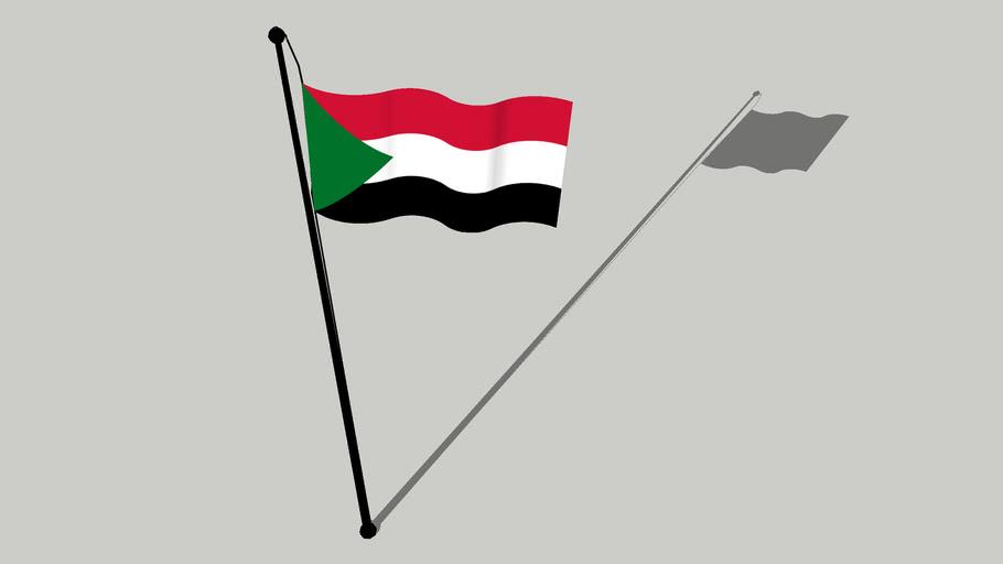 Flag of Sudan - علم السودان