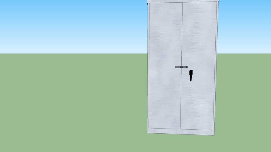 RWA - Room 206 - Locker cabinet