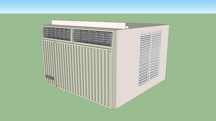 Fedders Large Window Wall Air Conditioner
