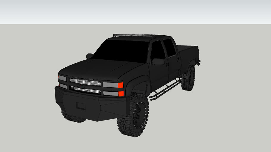 ATTF Chevy 2500 Squad Truck
