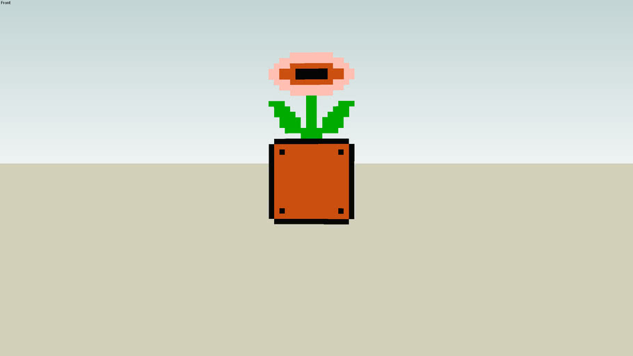 Fire flower from Super mario bros.