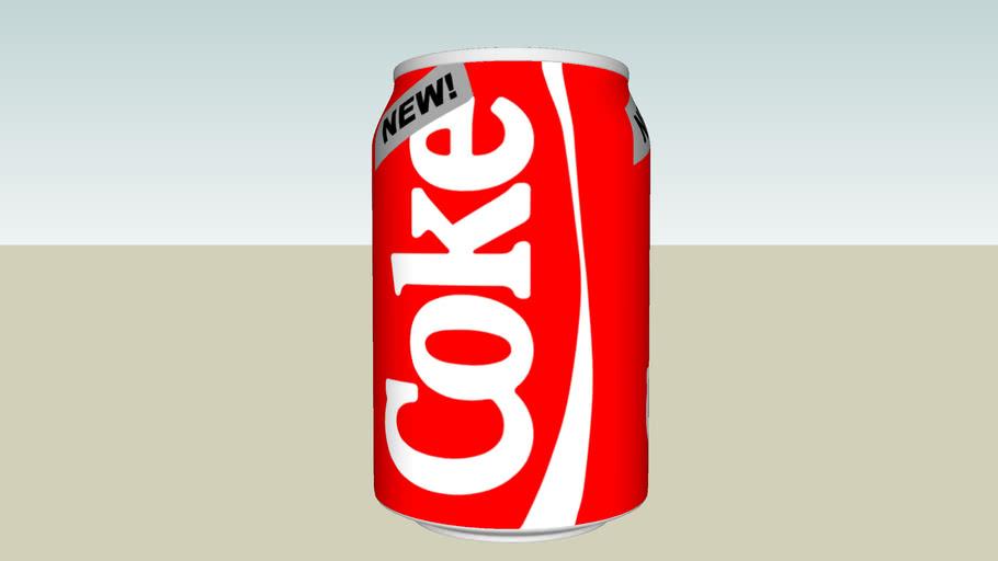Prototype can design - New Coke (1985)