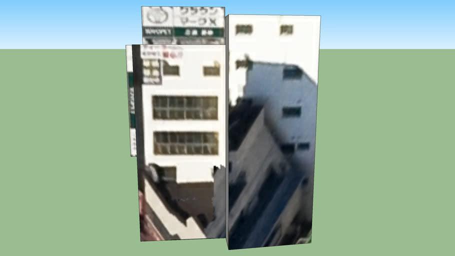 Building in 巣鴨, Toshima Ward, Tōkyō Metropolis, Japan