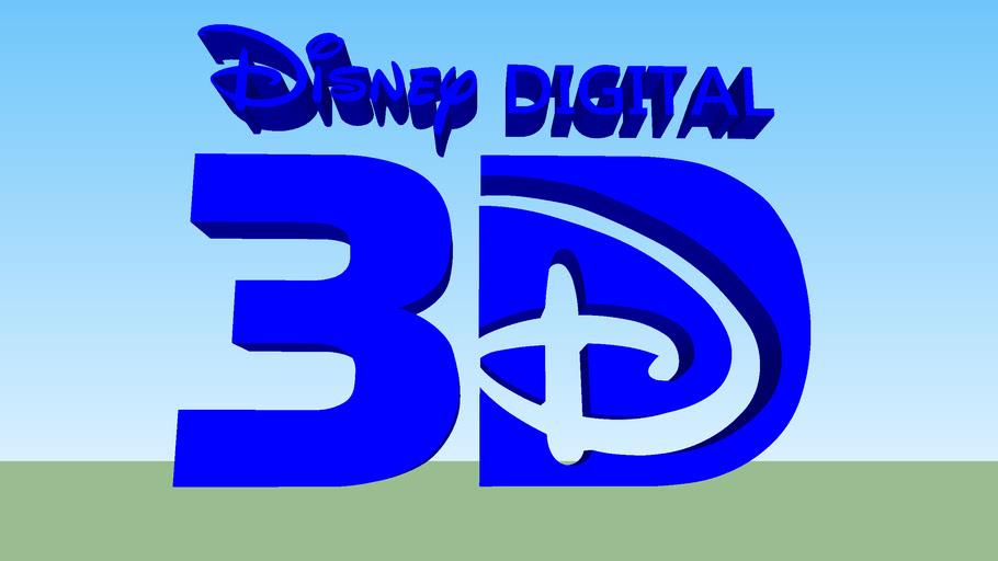 Disney Digital 3D Logo