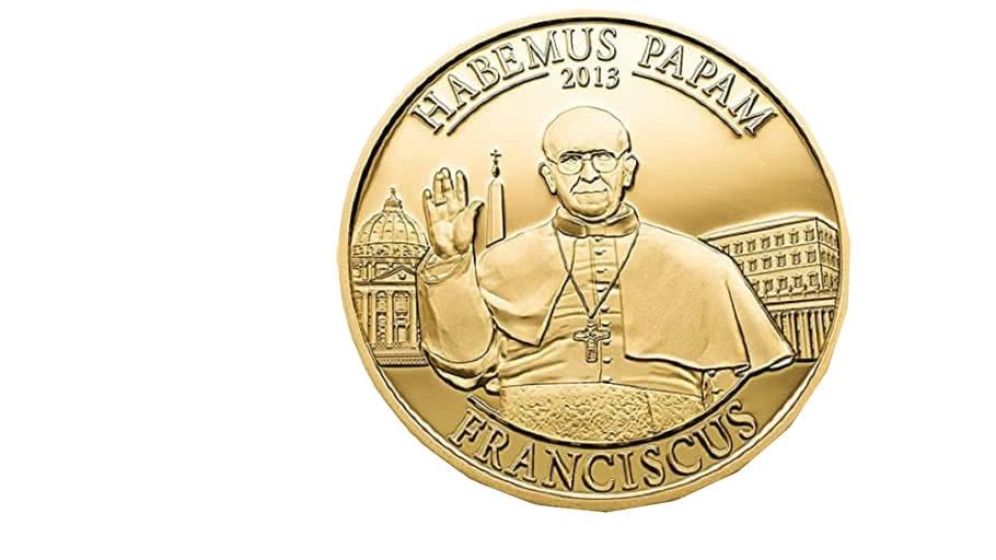 Habemus papam franciscus Medal  2013