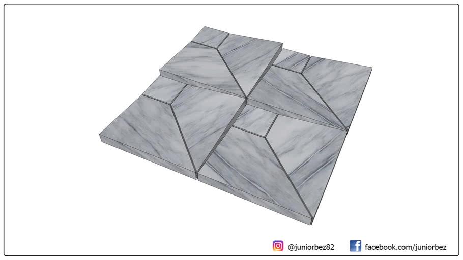 Revestimento 3D São Paulo Platinum - Mosarte