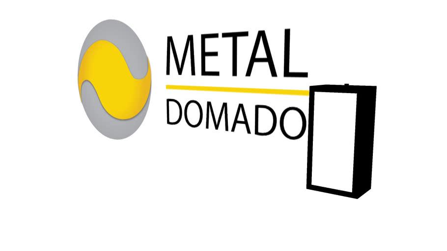 Arandela Metaldomado Box