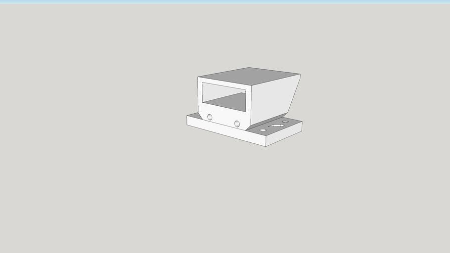 Pan-Tilt Binding for Laser Module Mount