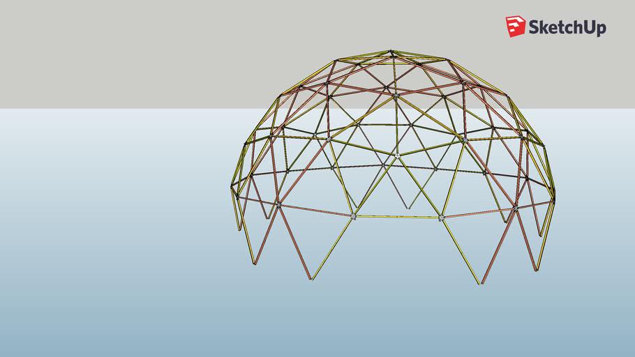 v3 Geodesic Dome CV-hubs