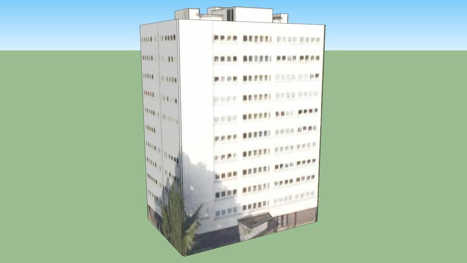 Building in Benmore Avenue, Birmingham, UK