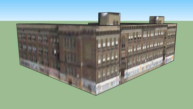 School Building in Philadelphia, PA, USA