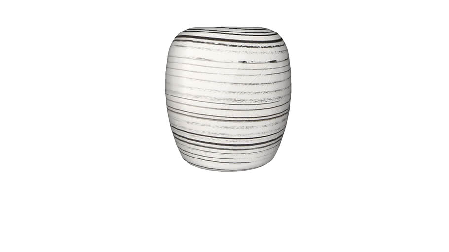Enzo Striped Vase
