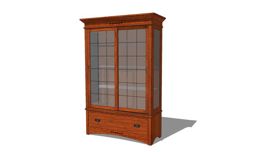 Stonefield Artisan Curio Cabinet