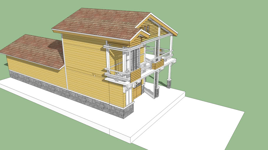 Nhà gỗ palette (Wooden house from recycle palette)