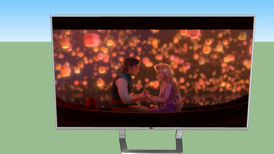 魔髮奇緣LG 4K TV TANGLED LG 4K TV