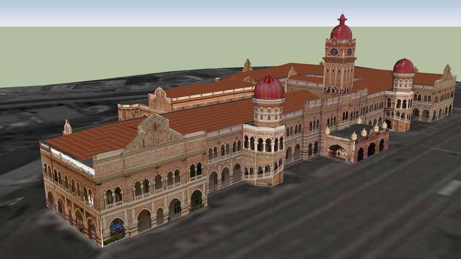 Sultan Abdul Samad Building 3d Warehouse