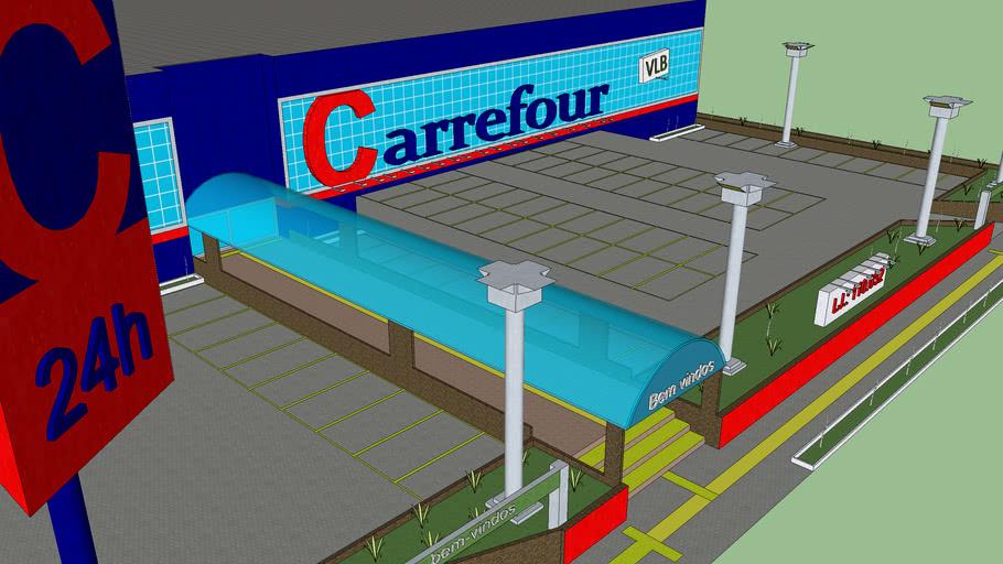 Carrefour hypermarket, supermarket, hipermercado, supermercado