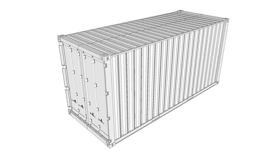 Shipping Container - 10'x20'