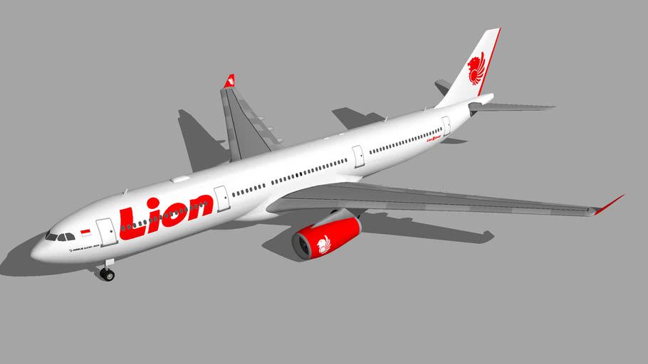 Lion Air Airbus A330-300 3