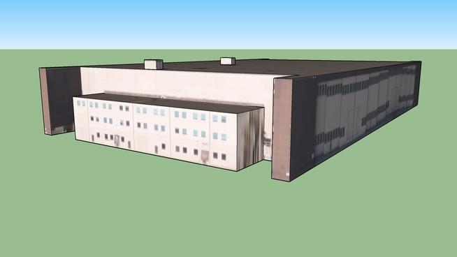 Hangar at Kirtland Air Force Base, Albuquerque, New Mexico, USA