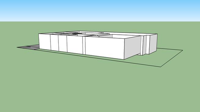 Remodel - Scale, no roof, 1st floor