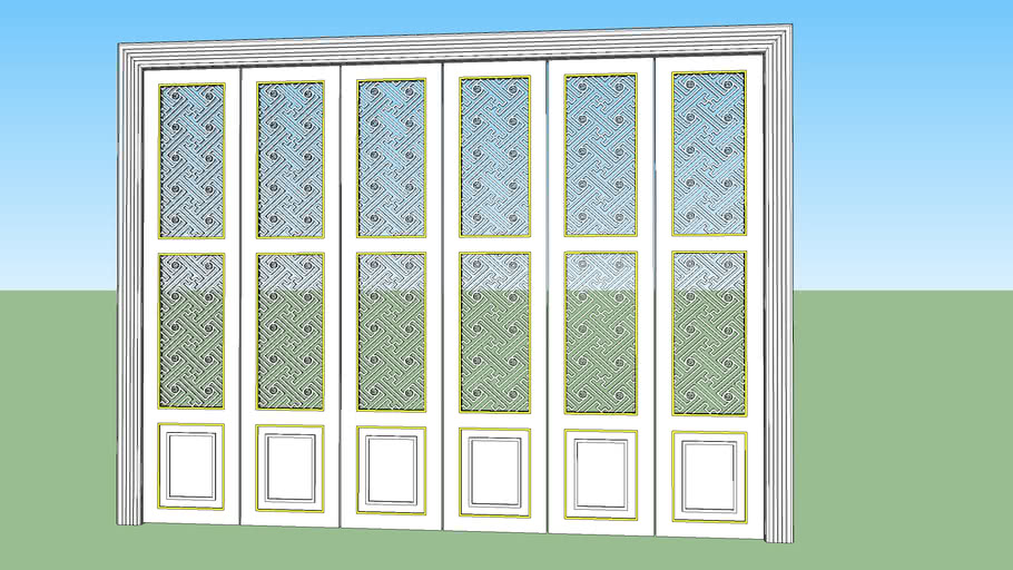 CNC folding doors