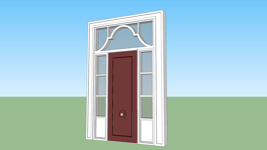 Hollywood Regency Front Door