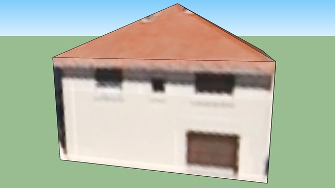 Building in Vaulx-en-Velin, France