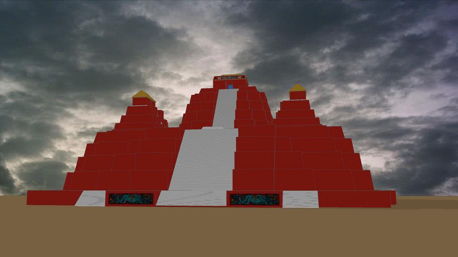 Templo El Tigre - El Mirador - Guatemala (Temple El Tigre - El Mirador - Guatemala))