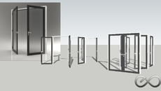 GLASS DOOR Collection