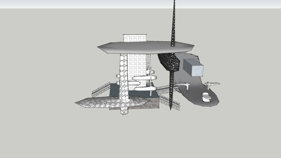 EXP 2 Arch1101- Sketchup Model