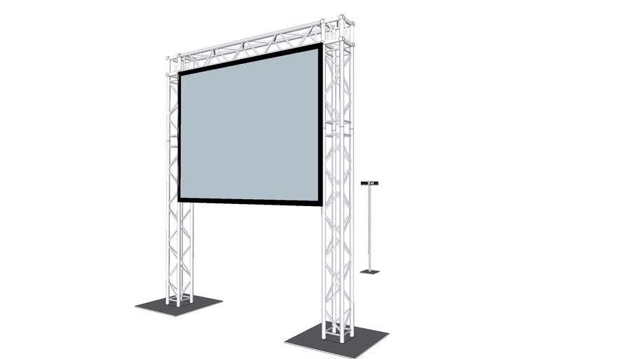 Projector Truss Arch - 3.5m x 2.5m