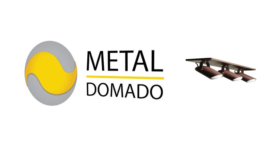 Metal Domado | Trilho Fixo com 3 Spots