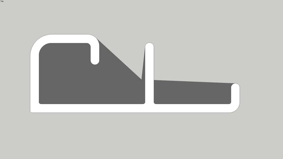 KEDSTR - Decking/Cladding Starter Piece